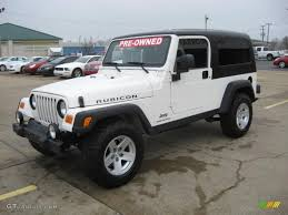 white jeep rubicon 2006 jeep wrangler rubicon news reviews msrp ratings with