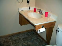 Height For Handicap Sink by Alluring 90 Handicap Bathroom Cabinets Decorating Inspiration Of
