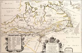 New France Map by Geogarage Blog Samuel De Champlain Navigator Soldier Explorer