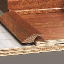Laminate Floor Moulding Reducer Overlap Transition Molding For Wood Flooring Elegance