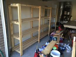 Free Standing Shed Shelves by Diy Garage Storage Favorite Plans Ana White Woodworking Projects