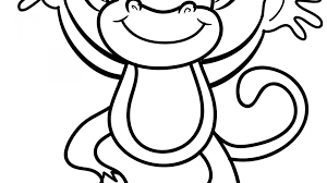 printable coloring pages monkeys coloring for kids literarywondrous little monkeys pages five page