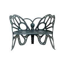Butterfly Patio Chair Flowerhouse Antique Butterfly Patio Bench Fhbfb06a The Home Depot