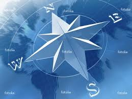 compass rose.
