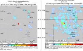 Wichita Ks Zip Code Map Back To Back Quakes Shake Wichita Strongest One Had Magnitude Of