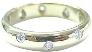 yellow gold diamond rings co etoile yellow gold diamond ring size 5 5 tradesy