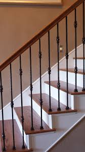 Replace Stair Banister A Full Stair Remodel At The Stella Journey Home Visit The Website