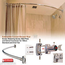 Curtain Rail Curved Curved Shower Curtain Rails Ebay