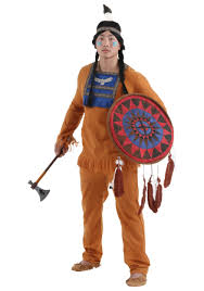 halloween costume cookie monster plus size men u0027s prairie indian costume
