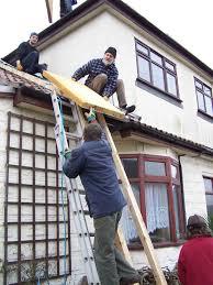 Flat Roof Insulating Roof U0026 Floor Ecodiy Diy Eco House