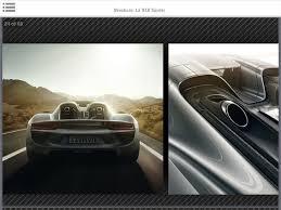 Porsche 918 Exhaust - 918 spyder brochure leaked page 1 porsche general pistonheads