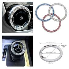 Home Button Decorations by Amazon Com Bling Car Decor Crystal Rhinestone Car Bling Ring