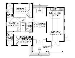 900 Square Foot House Plans by Interesting Allison Ramsey Architects Floorplan For 12100