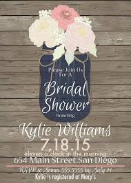 jar bridal shower invitations brilliant best 25 jar invitations ideas on rustic