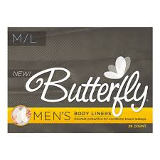 amazon com butterfly pads liners for bowel leaks s