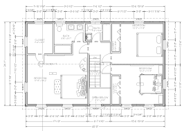 59 simple small house floor plans one level cool single story