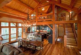 cabin style home plans 3 cabin style house plans with loft rustic barn timberbuilt homes