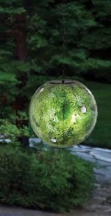 Shades Of Green by Shades Of Green Hanging Solar Gazing Globe Gazing Balls