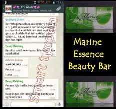 Sabun Umi marine essence soap home