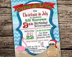 in july invitation in july summer