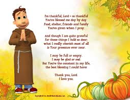 a3 thanksgiving card francis