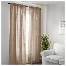 attractive design ideas beige linen curtains aina curtains 1 pair