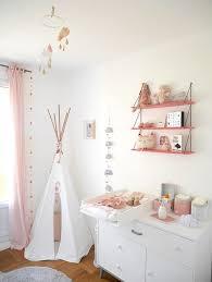 aménagement chambre bébé idee deco chambre bebe fille photo barricade mag