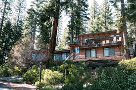 rental cabin with tree house in lake tahoe