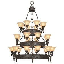 yosemite home decor isabella collection 28 light earthen bronze yosemite home decor isabella collection 28 light earthen bronze hanging chandelier with spanish scalloped glass