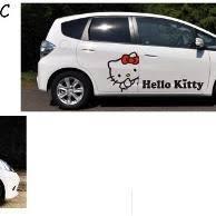 barang sejenis stiker mobil kitty kepala bukalapak