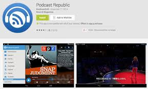 podcasts on android 5 best podcast apps for android hongkiat