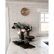 Ceramic Subway Tile Kitchen Backsplash Gorgeous Subway Ceramic Tile Backsplash Shop These Tiles And More