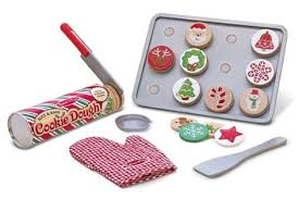 melissa u0026 doug slice u0026 bake christmas cookie toy set for 11 99