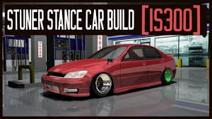 stanced lexus is300 stuner stance custom car build lexus is300 youtube