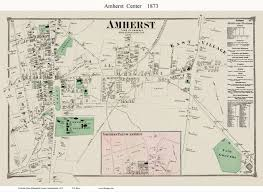 amherst map 1860 maps of amherst