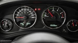 jeep wrangler speedometer jeep wrangler facelift review autoevolution