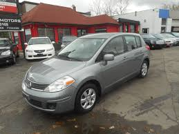 nissan tiida interior 2009 used 2009 nissan versa sl low km for sale in scarborough