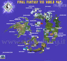 Final Fantasy World Map by List Of Final Fantasy Viii Locations Throughout Ff8 World Map