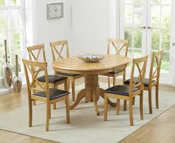 oval extending dining table and chairs with ideas gallery 2452