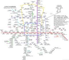 Beijing Metro Map by Spin2014