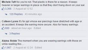 plastic back earrings earrings debate sweeps claims you should take the