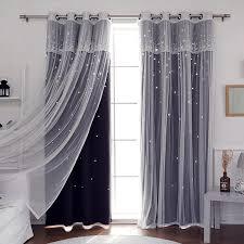 rideau pour chambre sunnyrain 1 pièce de luxe rideau pour chambre à coucher blackout