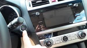 subaru outback interior 2017 new 2016 subaru outback new interior features demonstration youtube