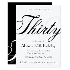 the dirty thirty invitations u0026 announcements zazzle
