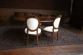 Upholstered Swivel Dining Chairs by Dining Chair Appealing White Round Modern Wooden Round Back