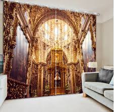 Curtains Home Decor by Online Get Cheap Rose Curtain Aliexpress Com Alibaba Group