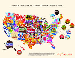 spirit halloween houston this map shows the top halloween candy in every state houston
