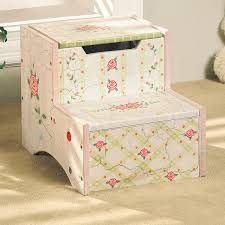 wooden step stool for kids roses potty patty