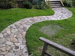 garden path stones stone pathway ideas flagstone stepping stone