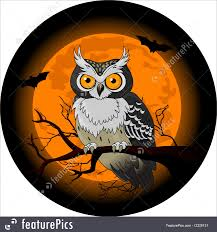 the halloween tree background halloween owl
